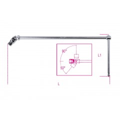 Bit holder with articulated T handle - Beta 852