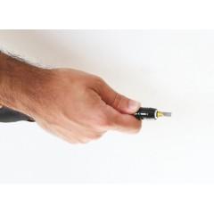 Giravite portainserti a cricchetto reversibile con impugnatura snodata 7 inserti integrati - Beta 855P