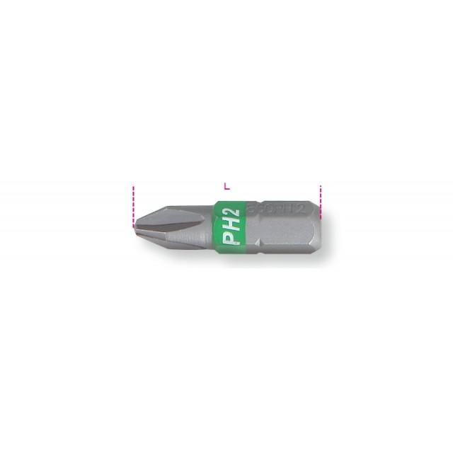 Inserti colorati per avvitatori per viti con impronta a croce Phillips  - Beta 860PH
