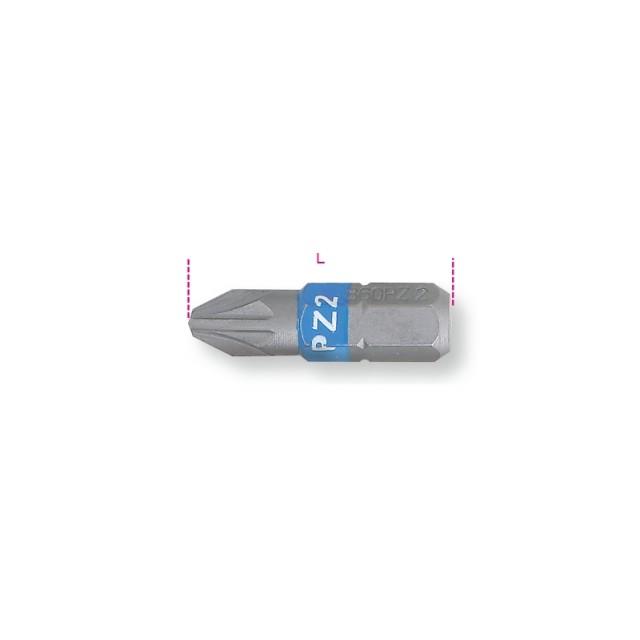 Inserti colorati per avvitatori per viti con impronta a croce Pozidriv - Supadriv - Beta 860PZ