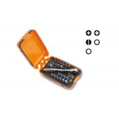 25 inserti per avvitatori,1 raccordo e 1 cricchetto reversibile in astuccio tascabile - Beta 860/C27