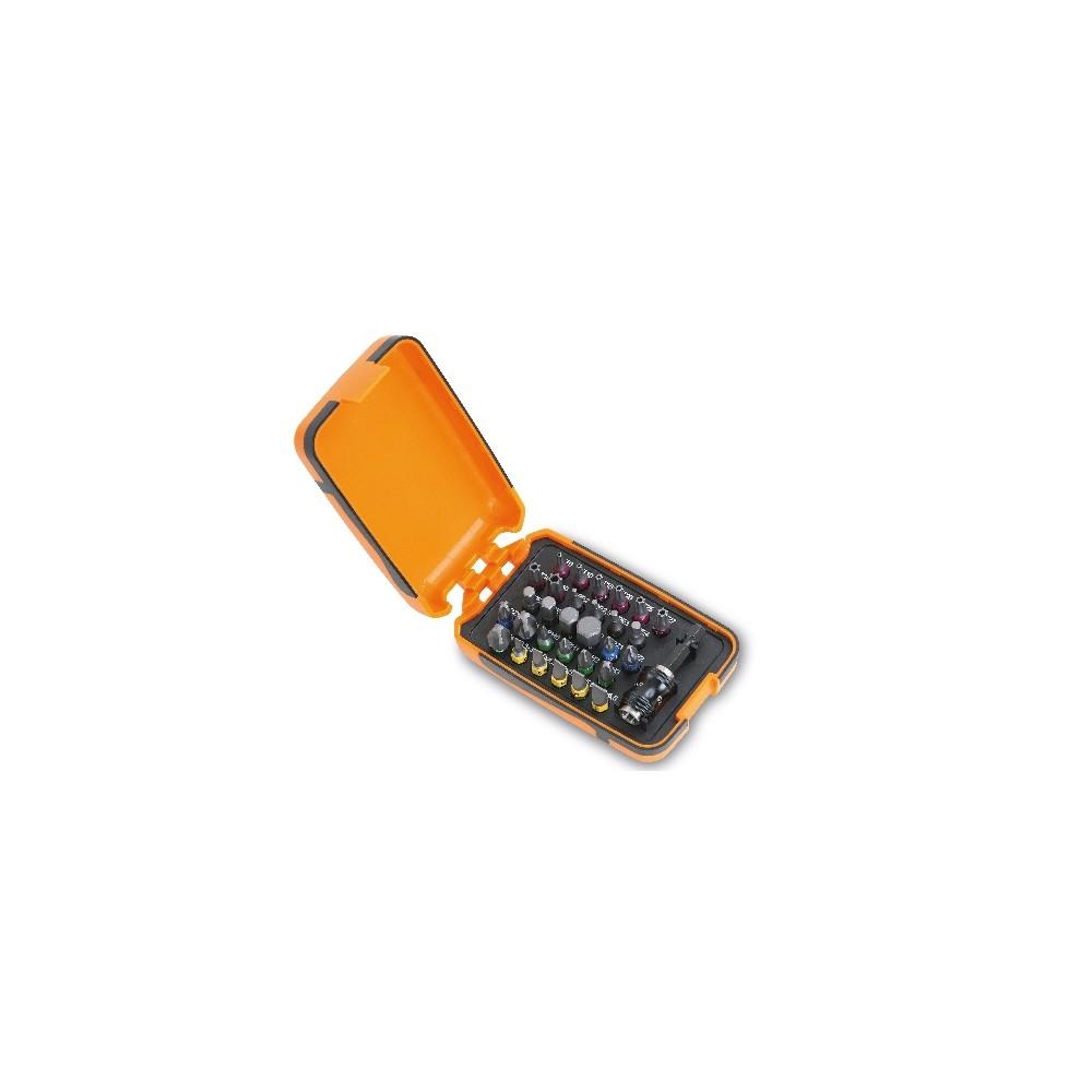 Serie di 30 inserti colorati con portainserti magnetico in astuccio tascabile - Beta 860MIX/A31