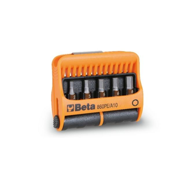 10 inserti con portainserti magnetico in astuccio tascabile - Beta 860PE/A10