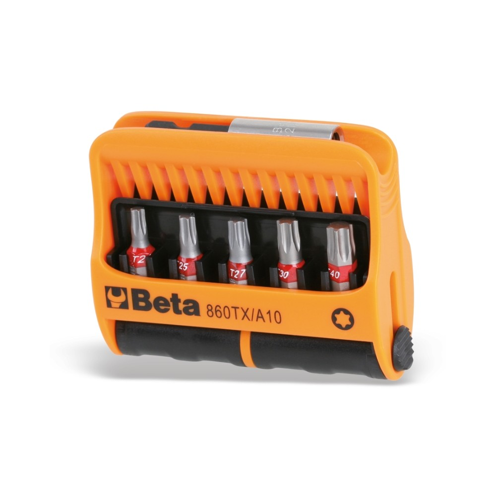 10 inserti con portainserti magnetico in astuccio tascabile - Beta 860TX/A10