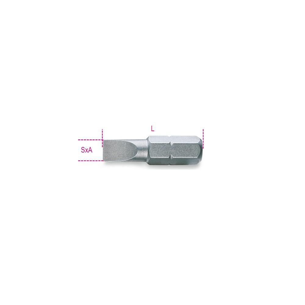 Inserti per avvitatori per viti a testa con intaglio - Beta 861LP