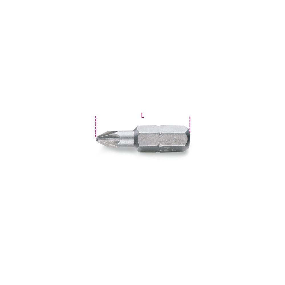 Inserti per avvitatori per viti con impronta a croce Pozidriv -Supadriv  - Beta 861PZ