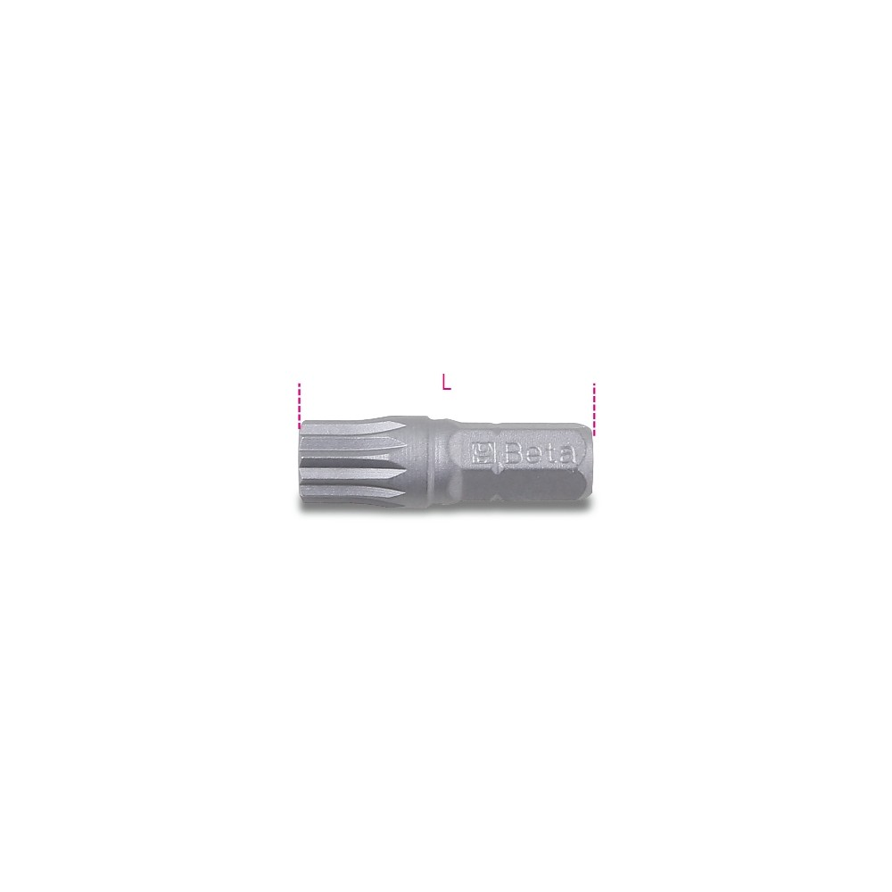 Bits for XZN® screws - Beta 861XZN
