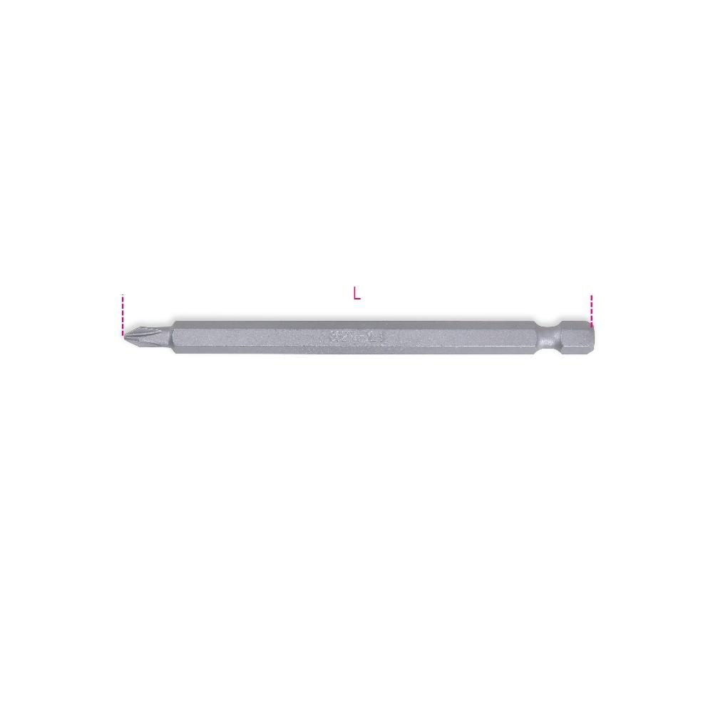 Bits for cross head Phillips® screws, long series - Beta 862PH-XL
