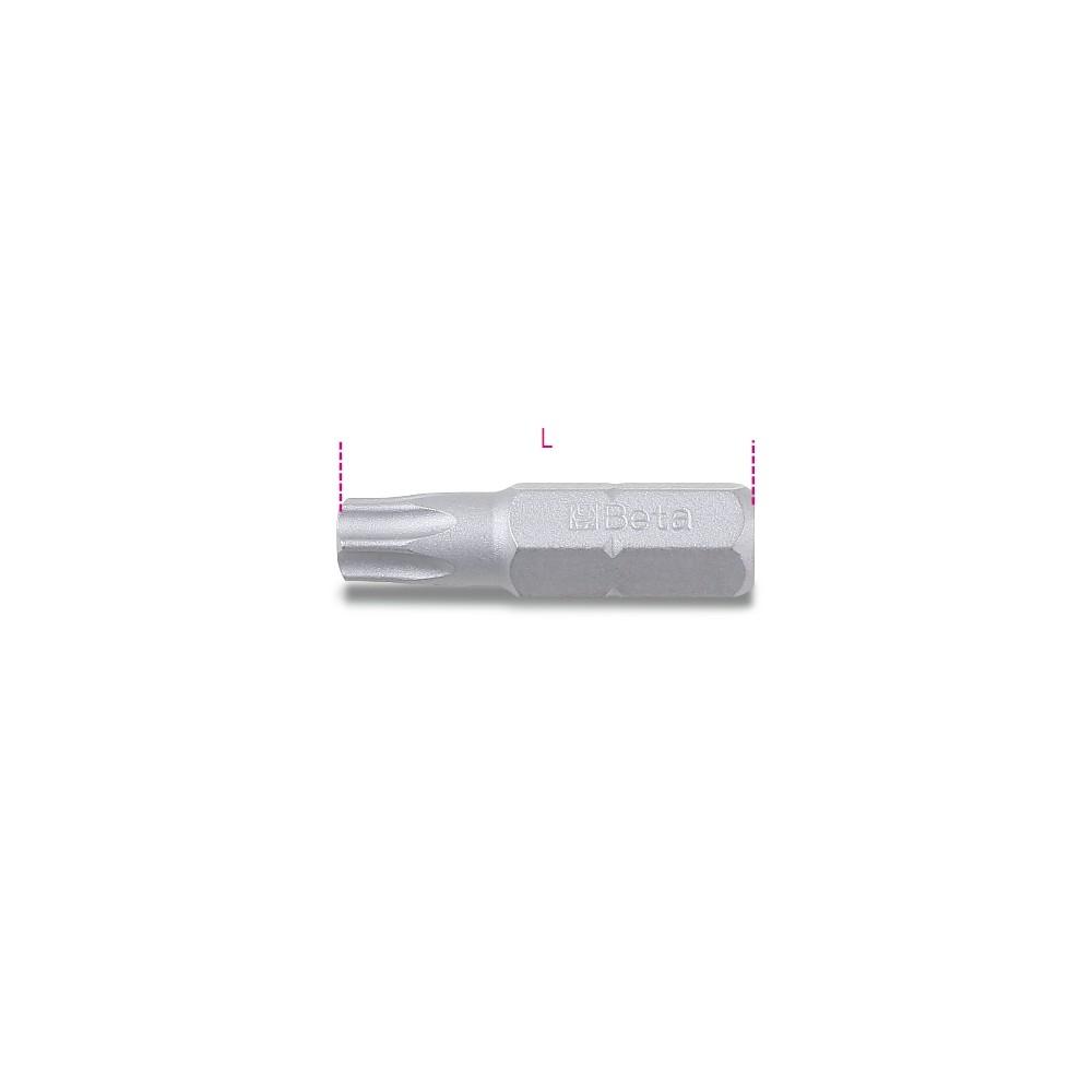 Inserti per avvitatori per viti con impronta Tamper Resistant Torx  - Beta 866RTX