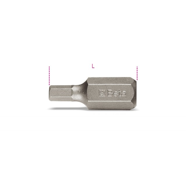 Embout avec entraînement hexagonal de 10mm pour vis 6 pans creux - Beta 867PE