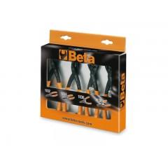 Serie di 4 pinze per anelli elastici di sicurezza - Beta 1031/S4