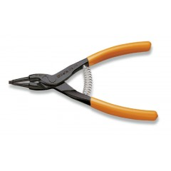 Pinze a becchi diritti per anelli elastici di sicurezza per alberi manici ricoperti in PVC - Beta 1036