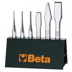 Assortimento di scalpelli con supporto - Beta 38/SP6