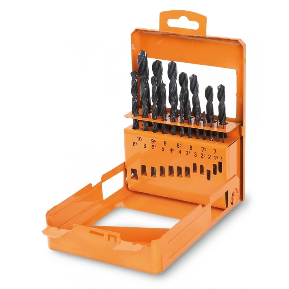 Serie di punte elicoidali cilindriche (art. 410) in cassetta - Beta 410/SP