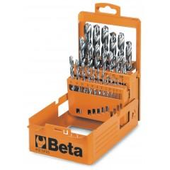 Serie di punte elicoidali cilindriche (art. 412) in cassetta - Beta 412/SP