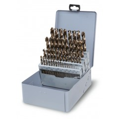 Punte per trapano Beta Tools 415CO//SP19A set 19 punte elic ø 1÷10 Beta 415