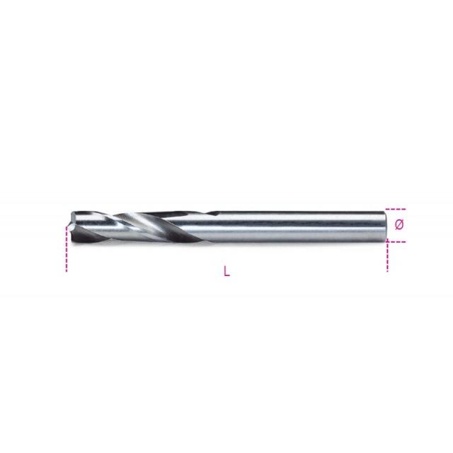 Punte speciali per punti di saldatura in acciaio HSS rettificate - Beta 423