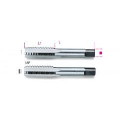 Serie di 2 maschi a mano UNF, passo fine in acciaio al cromo - Beta 433ASF