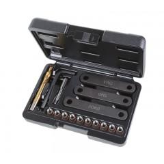 Assortimento per il ripristino delle filettature danneggiate dei supporti pinze freno M9x1,25 - Beta 437K/16