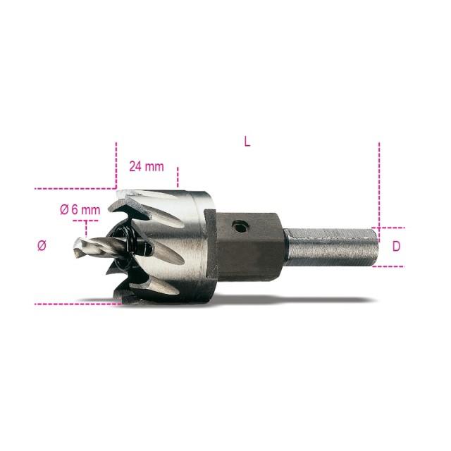Frese a tazza in acciaio HSS interamente rettificate - Beta 451