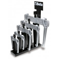 Serie di 6 estrattori a 2 griffe scorrevoli - Beta 1500N/SP