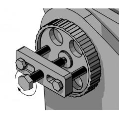 Estrattore universale per puleggia pompa iniezione - Beta 1529PI