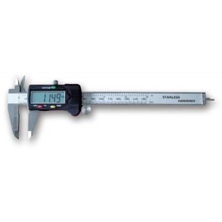 Calibro digitale a corsoio in acciaio inossidabile temprato in astuccio rigido di materiale plastico - Beta 1651DGT