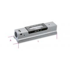Livella lineare di precisione in ghisa con base prismatica rettificata a 2 fiale infrangibili in astuccio di ... - Beta 1699L/1
