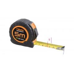 Mètre à ruban boîtier ABS antichoc bi-matières Ruban en acier Classe de précision : II - Beta 1691BM