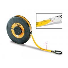 Rotelle metriche cassa in ABS antiurto nastro in fibra di vetro ricoperto in PVC - Beta 1694/L