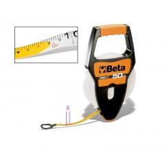 Rotelle metriche con impugnatura cassa in ABS antiurto nastro in fibra di vetro ricoperto in PVC - Beta 1694A/L