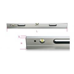Stadie in alluminio con impugnature a 2 fiale infrangibili - Beta 1696S