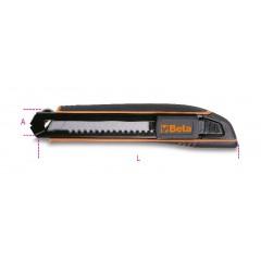 Cutter 18 mm fourni avec 6 lames - Beta 1771HD