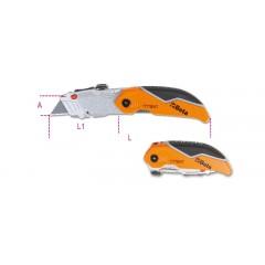 Foldaway knife with trapezoidal blade - Beta 1777BMT