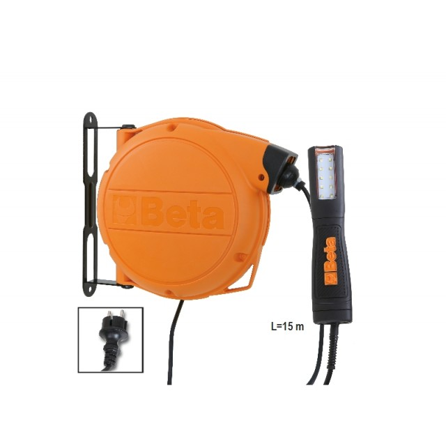 Avvolgitore automatico completo di lampada a LED, 100-240Vac - Beta 1846LED/BM