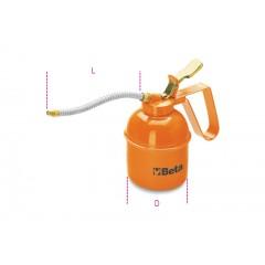 Metal pressure oil cans flexible spout - Beta 1751