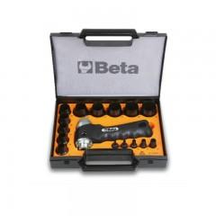 Assortimento di 15 fustelle da 3 a 30 mm e 1 accessorio - Beta 1105/C15T