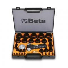 Assortimento di 29 fustelle da 2 a 50 mm e 2 accessori - Beta 1105/C29T