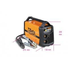 Saldatrice ad inverter con uscita corrente continua (DC) per saldature ad elettrodo MMA e TIG su acciaio. c... - Beta 1860 140A
