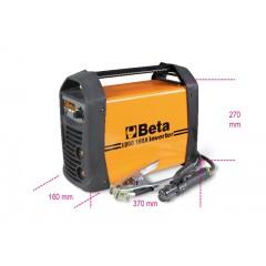 Saldatrice ad inverter con uscita corrente continua (DC) per saldature ad elettrodo MMA eTIG su acciaio. co... - Beta 1860 160A