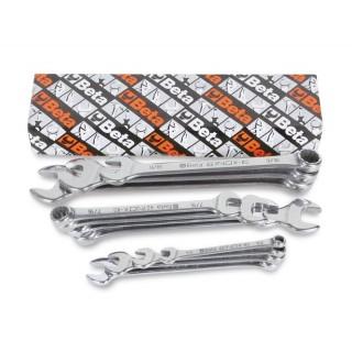 Serie di chiavi combinate inossidabili - BetaINOX 42INOX/S