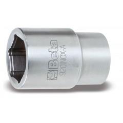 """Chiavi a bussola con attacco quadro femmina 1/2"""" bocca esagonale, in acciaio inossidabile - BetaINOX 920INOX-A"""