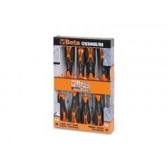 Serie di 8 giravite in acciaio inossidabile - BetaINOX 1293INOX/D8