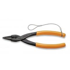 Pinze a becchi diritti per anelli elastici di sicurezza, per fori manici