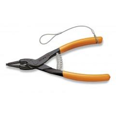 Pinze a becchi diritti per anelli elastici di sicurezza per alberi manici ricoperti in PVC H-SAFE - Beta 1036HS