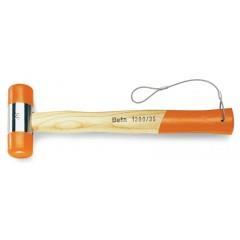 Mazzuole con battenti intercambiabili in materiale plastico manico in legno H-SAFE - Beta 1390HS