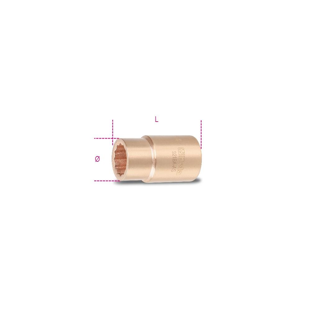 Sparkproof bi-hex sockets - Beta 921BA-AS