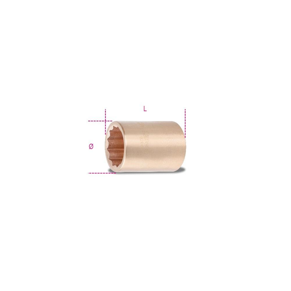 Sparkproof bi-hex hand sockets - Beta 926BA