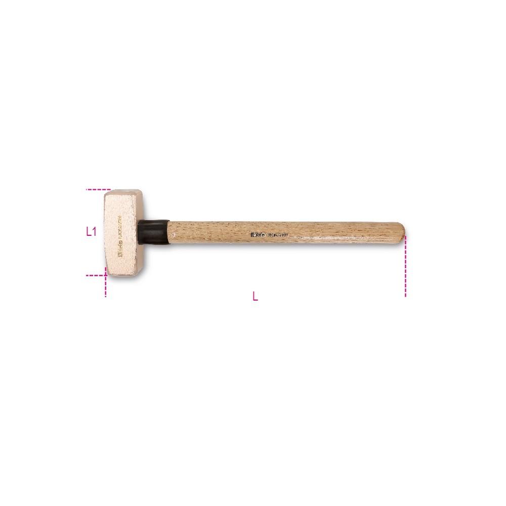 Mazzette antiscintilla manico in legno - Beta 1380BA