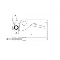 Giratubi tipo leggero in acciaio - Beta 366